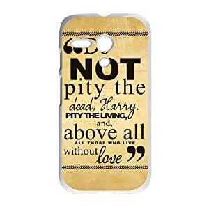 Motorola G Cell Phone Case White Harry Potter quotes 006 KYS1114345KSL