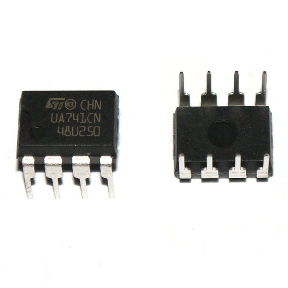 Lm741 Series General Purpose Operational Amplifiers By Robokart How To Connect The Op Amp Chip A Circuit Industrial Scientific