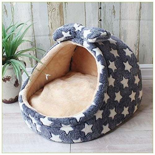 Flyingpets Dog Pillow Bed - Dog Bed Pillow - Large Dog Bed Pillow - Pet Bed Dog House Kennel Puppy Cat Litter Bed Home Shape Nest Sofa Indoor Small Dogs Cats Cushion Removable Pillow Chihuahua Mat. by Flyingpets (Image #7)