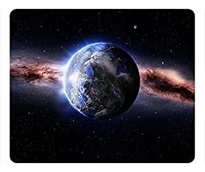 Wormhole Personalized Design Rectangular Mouse Pad The Blue Planet