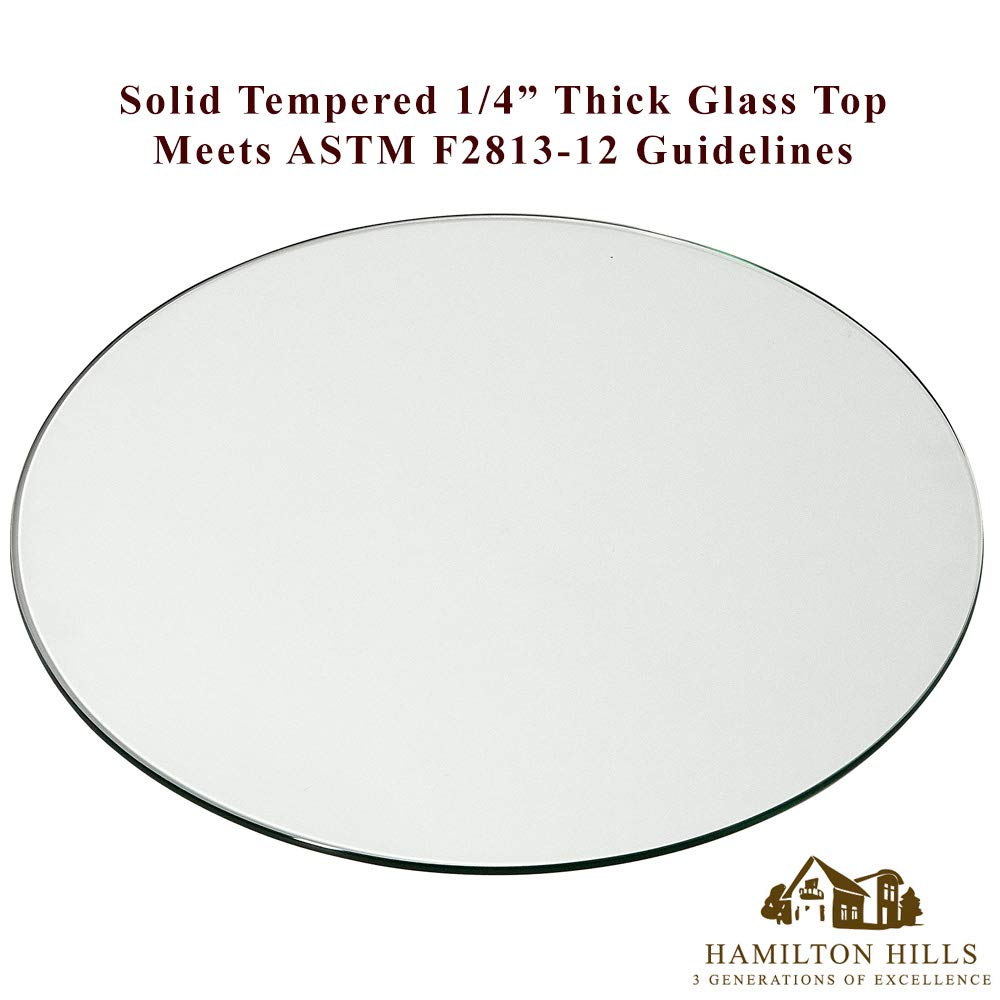 18 Inch Glass Table Top | 1/4