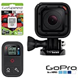 GoPro HERO4 Session w/ GoPro Smart Remote ARMTE-002 + 32GB MicroSD Class 10 Memory Card