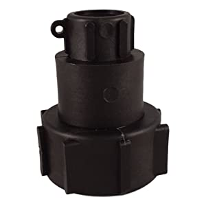 IBC Tote Drain Adapter: 2in Buttress to 3/4in Female NPT Pipe Thread - Food Grade - Easily Connect Your Tote to Any 3/4 in Spigot - Great for IBC Totes W/Broken Values