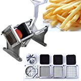 New MTN Gearsmith Preminum Deluxe Commercial Grade Heavy Duty French Frys/Fruit/Vegitable Cutter with 4 Blade
