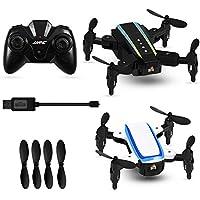 Yosoo- 2PCS RC Mini Drone Remote Control Headless Mode Foldable Quadcopter Toy