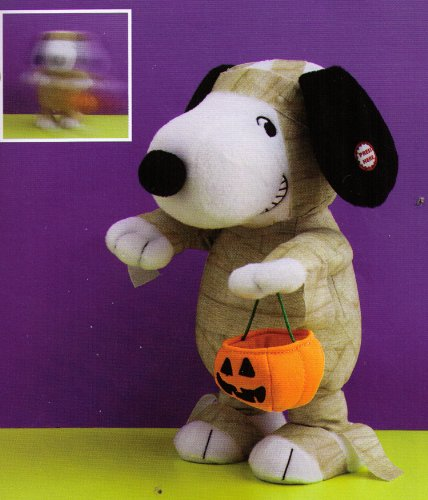 1HHP2027 Spooky Snoopy Walks to Spooky Music Hallmark Halloween by hallmark