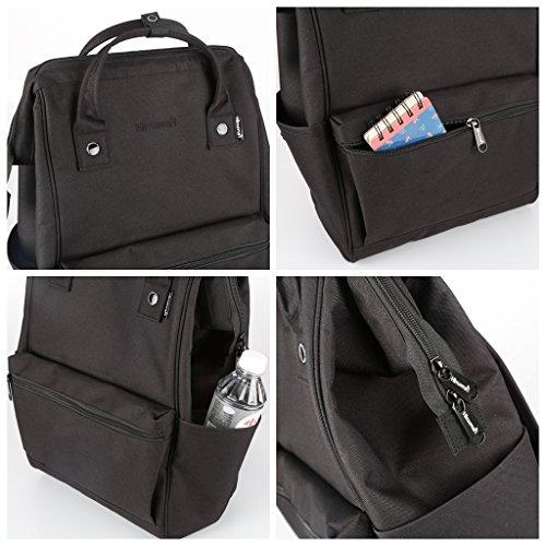 Himawari Travel Backpack Laptop Backpack Large Diaper Bag Doctor Bag Backpack School Backpack for Women&Men (Scrub Blue) by Himawari (Image #6)