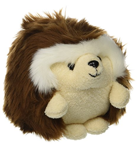 GUND Giggle Ganley Sound Hedgehog Stuffed Animal Plush, Brown, (Laughing Plush Toy)