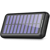Power Bank 24000mAh - PLOCHY Solar Phone...