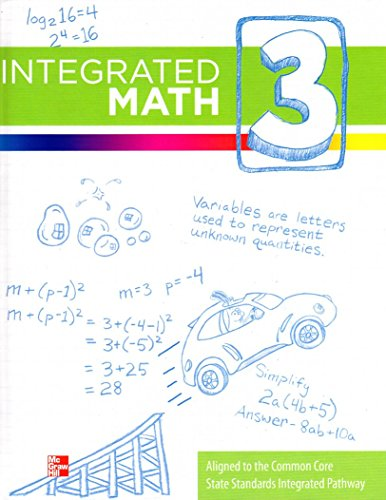 Integrated Math, Course 3, Student Edition