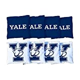 Victory Tailgate NCAA Yale Bulldogs Unisex 54750Cornhole Bag Set (Corn Filled), Multicolor, One Size