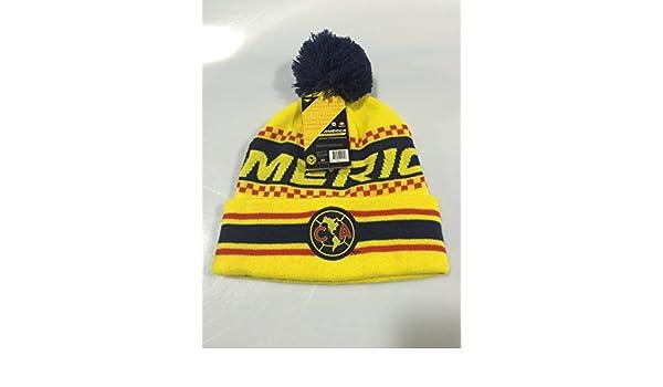 e8c53b0ad64 Amazon.com   CLUB AMERICA AGUILAS JERSEY BEANIE HAT (GORRA BEANIE) RINOX  WARM ORIGINAL (OSFM)   Sports   Outdoors