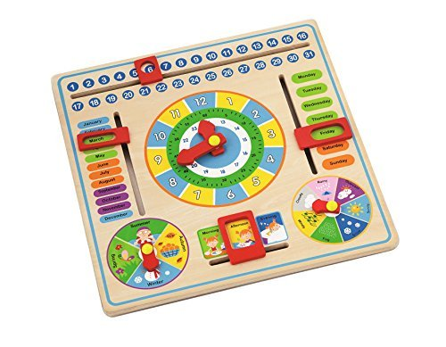 Time Telling Game - Teach Time Clock Educational Toy for Kids