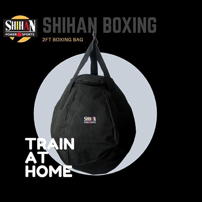 White Wrecking Ball Uppercut Boxing Punch//Kick Bag 2ftRound Boxing Sold Un-Fi...