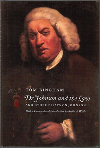 Dr Johnson and the Law: and Other Essays on Johnson