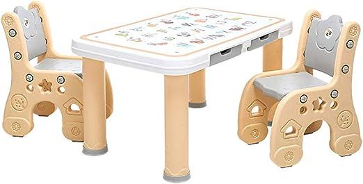 Juego de mesa y silla para niños, accesorios de muebles para niños ...