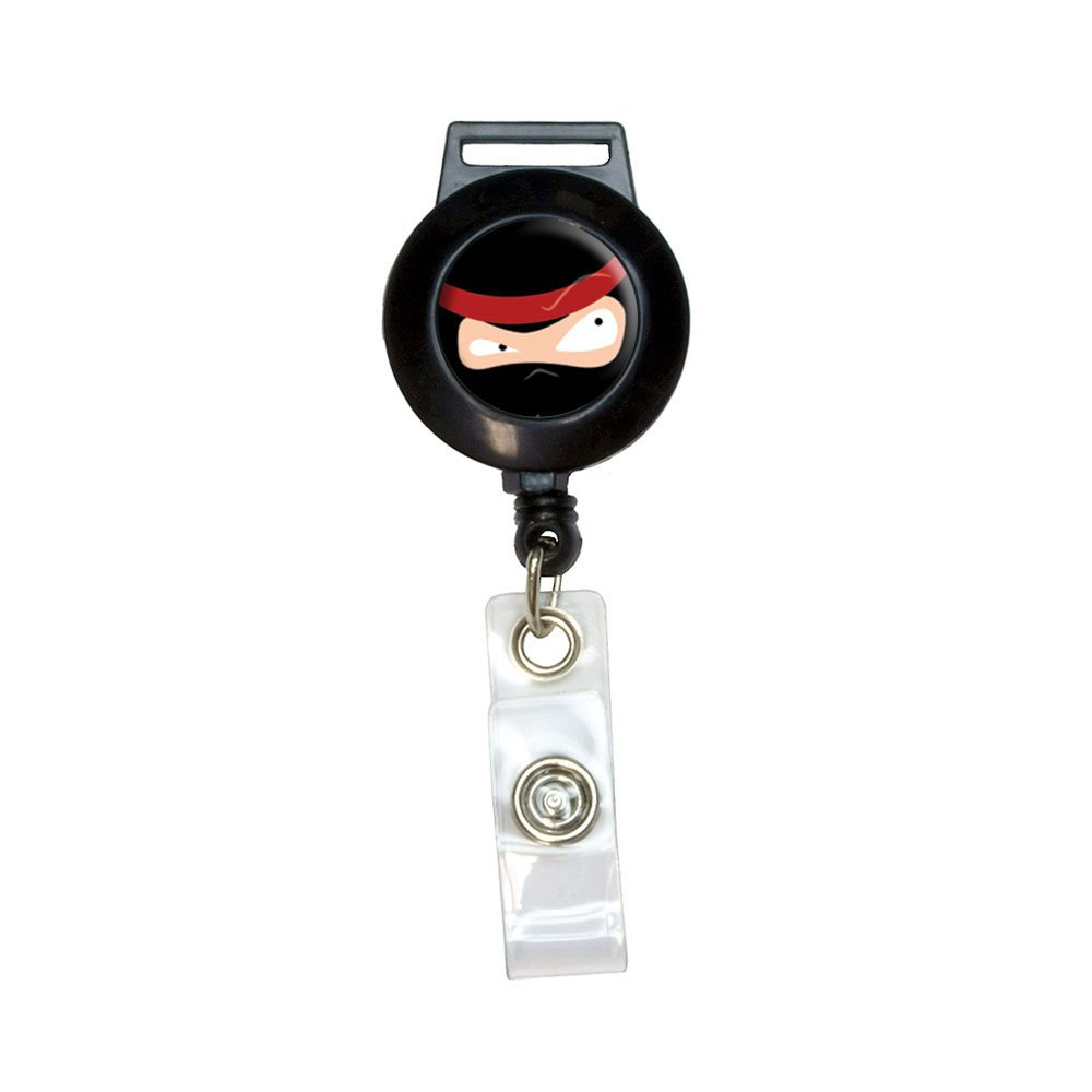 Amazon.com : Ninja Face - Head Lanyard Retractable Reel ...