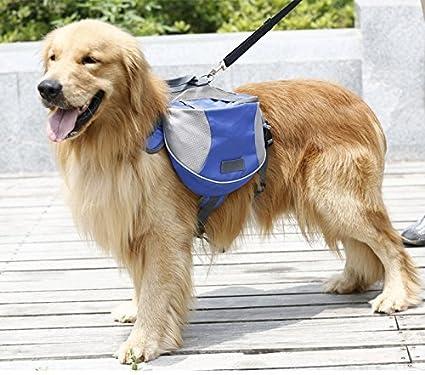 Lifeunion Saddle Bag Backpack for Dog Tripper Hound Bag Travel Hiking Camping