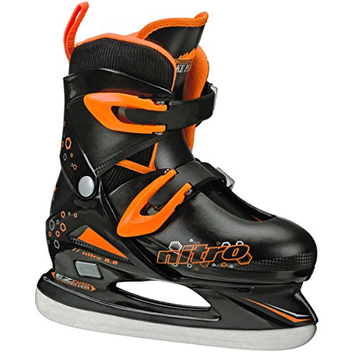 Lake Placid Boys Nitro 8.8 Adjustable Figure Ice Skate