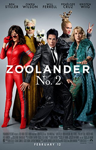 "Zoolander 2 - 24"" X 36"" Movie Poster on Glossy Photo Paper"