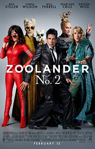 "Zoolander 2 - 24"" X 36"" Movie Poster on Glossy Photo Paper"