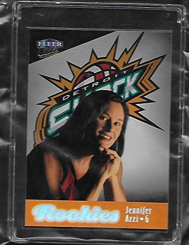 999 Fleer Ultra Basketball Rookie Card # 89 - Detroit Shock - Stored in a Protective Plastic Display Case!! ()