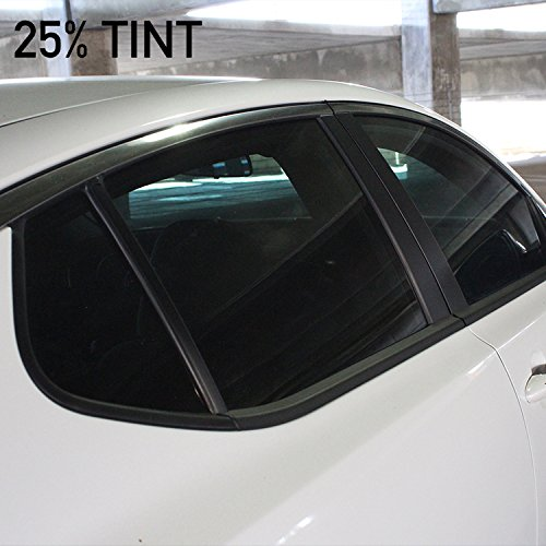 MotoShield Pro Nano Ceramic Tint Film [Blocks Up to 99% of UV/IRR Rays] 40'' x 100' Window Tint Roll - 25% by MotoShield Pro (Image #4)