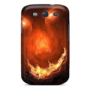 Galaxy S3 Cases Bumper Tpu Skin Covers For Flames Monster Accessories