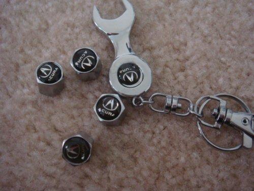 Wheel Tire Valve Stem Caps for Acura Car Tl Rl NSX RDX MDX ZDX TSX TSX Wagon New