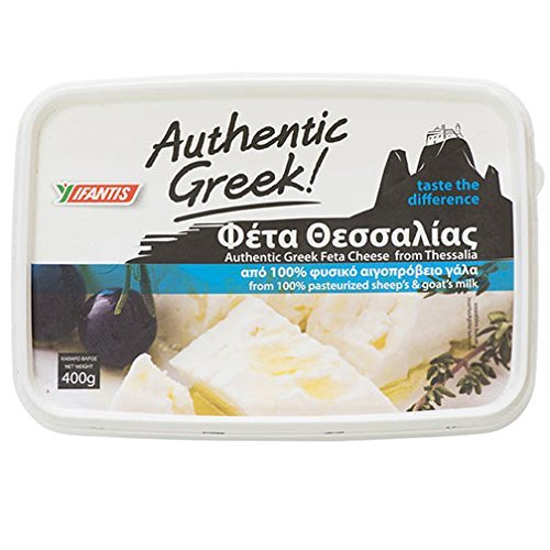 Feta Greek Authentic Cheese - 14 Oz