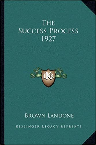 The Success Process 1927