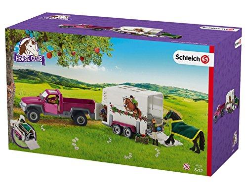 Schleich - 42346.0 - Pick-up avec remorque pour cheval