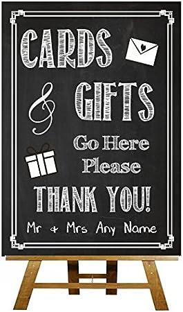Tarjetas y Vintage de regalos de con texto de personalizado de tu ...