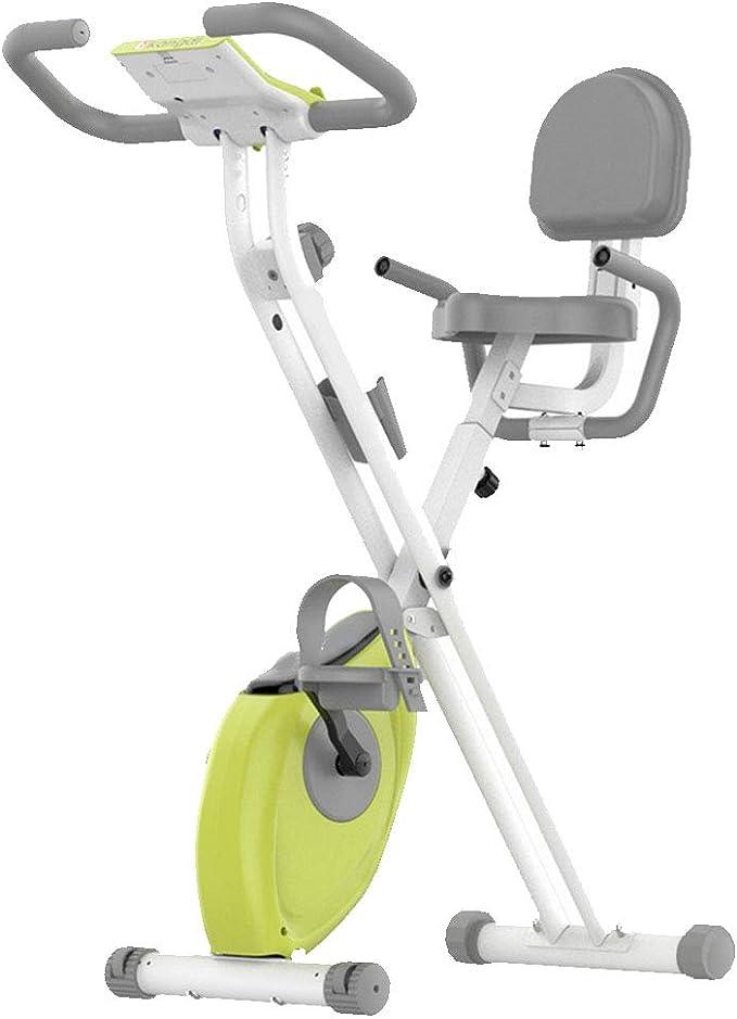 MIAO Equipo de Ejercicios para el hogar Bicicleta de Ejercicio Ultra silenciosa Deportes para Interiores Bicicleta para Adelgazar,Green-OneSize: Amazon.es: Hogar