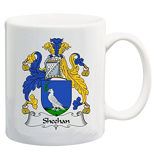 - Sheehan Coat of Arms/Sheehan Family Crest 11 Oz Ceramic Coffee/Cocoa Mug by Carpe Diem Designs, Made in the U.S.A.