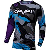 Seven Annex Soldier Mens Off-Road Motorcycle Jersey - Purple/Large
