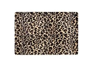 "Bazoo B-SSK LEO 10 - Lámina protectora adhesiva para portátiles de hasta 12""/30, diseño de leopardo"