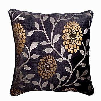 55x55 cm fundas de almohadones, Púrpura cojines para sofas ...