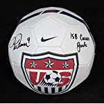 Mia Hamm SIGNED Team USA Soccer Ball Legend Olympics ITP AUTOGRAPHED - PSA/.