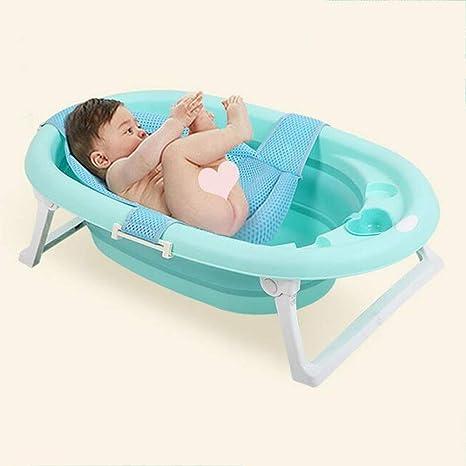 JINRONG_xzp Bañera para bebé Plegable-Bañera Infantil ...