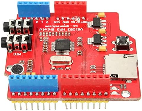 NEW MP3 Music VS1053B Shield Board With TF Card Slot Work For Arduino For UNO MEGA Kul-Kul