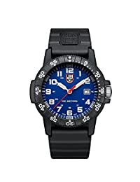 Luminox Leatherback Sea Turtle Giant 0323 Watch One Size Blue White w PU strap