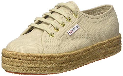 taupe 2730 949 Superga cotropew Beige Femme Baskets w8wTp0x
