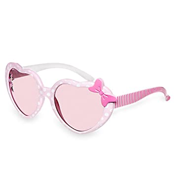 Disney Minnie Mouse Sunglasses - Pink Polka Dot Frames (For Little ...