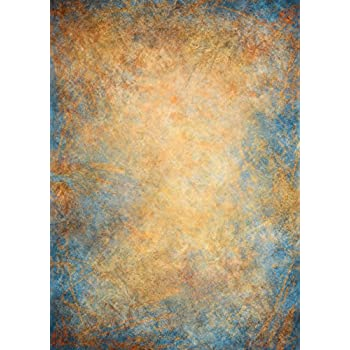 fbe9c63c5abe7c Brown Blue Wall Backdrop Wrinkle Free Cloth Grunge Concrete Wall Cement  Wall Portrait Photo Abstract Texture Printed Fabric Photography Background  (G1338