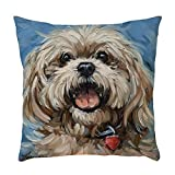 LOKODO Pillow Protectors Animal Pattern Pillowcase Pillow Case Cushion Cover Sofa Home Car Decor