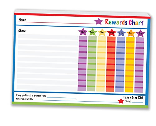 Reward and Responsibility Chart 2 Packs of 50 Tear off Charts per pad 6