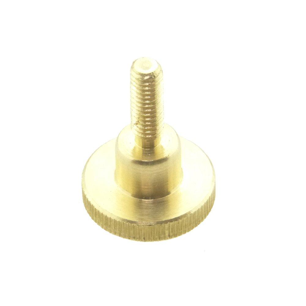 R/ändelschraube hohe Form DIN 464 Messing blank M 5 x 25-25 St/ück