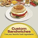 Hamilton Beach Dual Breakfast Sandwich Maker with Timer, Silver (25490A)