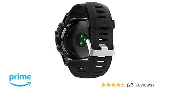 Amazon.com: ZSZCXD Band for Garmin Fenix 3 / Fenix 3 HR/Fenix 5X, Soft Silicone Wristband Replacement Watch Band for Garmin Fenix 3 / Fenix 3 HR/Fenix 5X ...